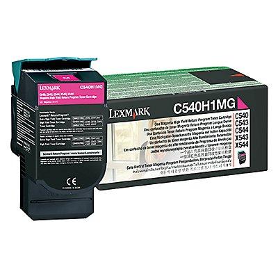 Lexmark Toner C540H1MG 2.000Seiten magenta