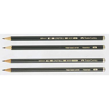Faber-Castell Bleistift CASTELL 9000   dunkelgrün