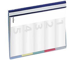 DURABLE Personalhefter DIVISOFLEX 255706 DIN A4 Hartfolie blau