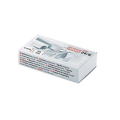 NOVUS Heftklammer 24/6 040-0158 verzinkt 1.000 St./Pack.