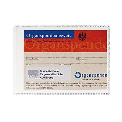 DURABLE Ausweishülle 213819   148x105mm Polypropylen transparent
