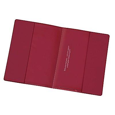 Veloflex Ausweishülle Documentsafe 3259800 100x135mm PVC weinrot