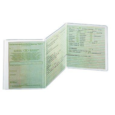 DURABLE Ausweishülle Polypropylen transparent