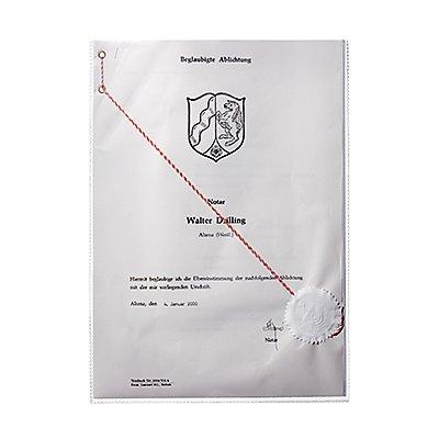 DURABLE Ausweishülle 213119 210x297mm Polypropylen transparent