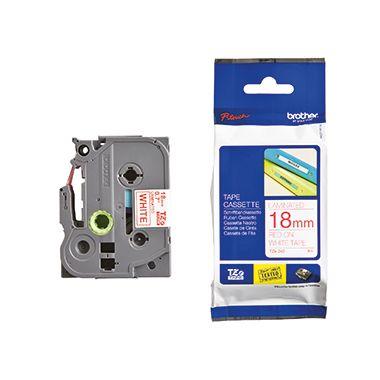 P-touch Schriftbandkassette TZE242 18mmx8m laminiert tr auf ws