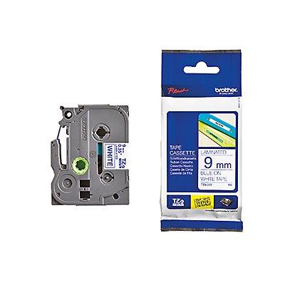 P-touch Schriftbandkassette TZE223 9mmx8m laminiert bl auf ws