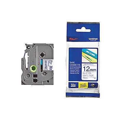 P-touch Schriftbandkassette TZE233 12mmx8m laminiert bl auf ws
