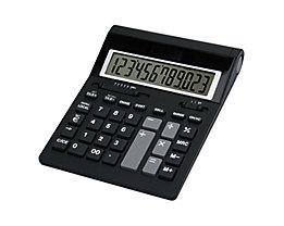 TWEN Tischrechner 1220 S 593 12Zeichen Solar/Batterie schwarz