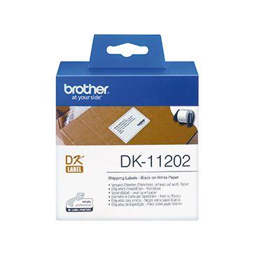 Brother Etikett DK11202 60x100mm weiß 300 St./Pack.