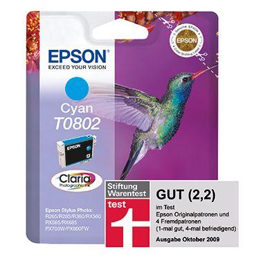 Epson Tintenpatrone C13T08024011 900Seiten 7,4ml cyan