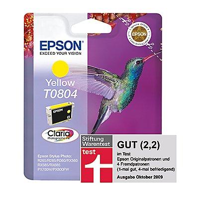 Epson Tintenpatrone C13T08044011 460Seiten 7,4ml gelb