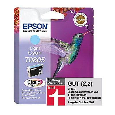 Epson Tintenpatrone C13T08054011 410Seiten 7,4ml fotocyan