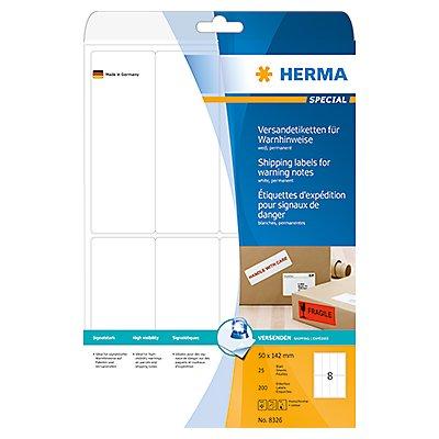 HERMA Versandetikett 50x142mm weiß 200 St./Pack.