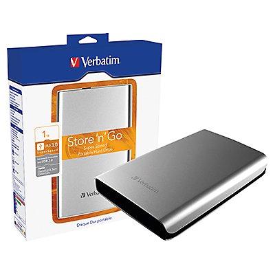 Verbatim Festplatte Store n Go 53071 1TB USB3.0 silber