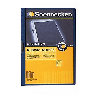 Soennecken Klemmmappe DIN A4 bis 30Blatt PVC
