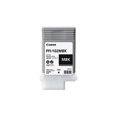 Canon Tintenpatrone PFI102MBK 0894B001 130ml matt schwarz