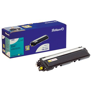 Pelikan Toner 4211873 1242 wie Brother TN230Y 1.400S. gelb