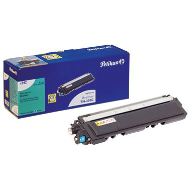 Pelikan Toner 4211859 1242 wie Brother TN230C 1.400S. cyan