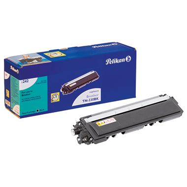 Pelikan Toner 4211842 1242 wie Brother TN230BK 2.200S. schwarz