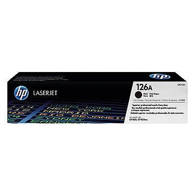 HP Toner CE310A 126A 1.200Seiten schwarz