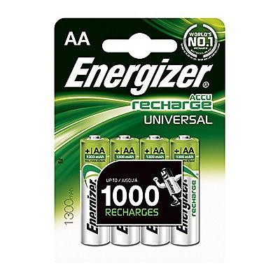 Energizer Akku Recharge Universal 638590 AA/Mignon/HR6 4 St./Pack.