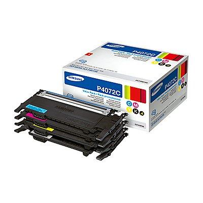 Samsung Toner CLT-P4072C/ELS sw/c/m/y 4 St./Pack.