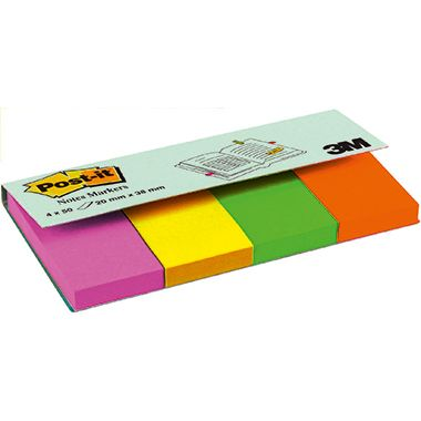 Post-it Haftstreifen Page Marker 670-4U 20x38mm...