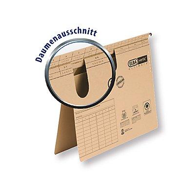 ELBA Hängehefter vertic ULTIMATE 100082310 DIN A4 kfm. Heftung braun