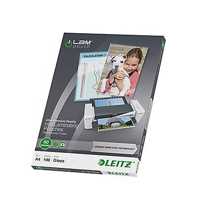 Leitz Laminierfolie UDT DIN 80mic 100 St./Pack.