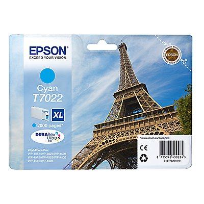Epson Tintenpatrone C13T70224010 2.000Seiten 21ml cyan