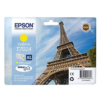 Epson Tintenpatrone C13T70244010 2.000Seiten 21ml gelb