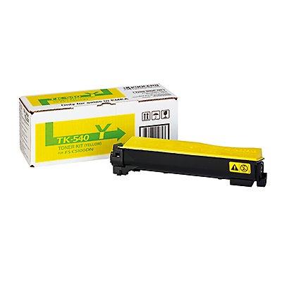 KYOCERA Toner TK540Y 1T02HLAEU0 4.000Seiten gelb