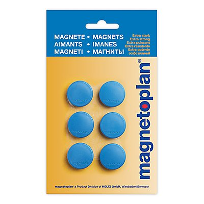 magnetoplan Magnet Discofix Hobby 25mm 6 St./Pack
