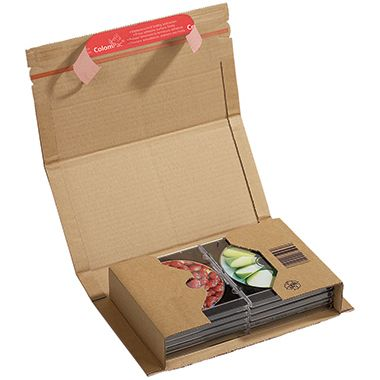 ColomPac Versandkarton Universal CP020.04 25,1x6x16,5cm braun