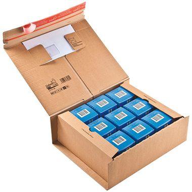 ColomPac Versandkarton POST-BOX CP067.06 33x12x29cm braun