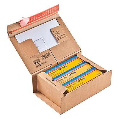 ColomPac Versandkarton POST-BOX CP067.02 23x9x16,6cm braun