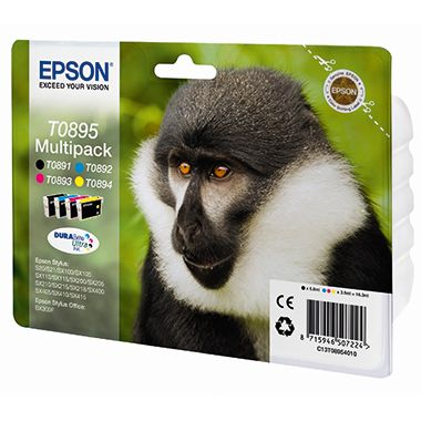 Epson Tintenpatrone C13T08954010 sw/c/m/y 4 St./Pack.