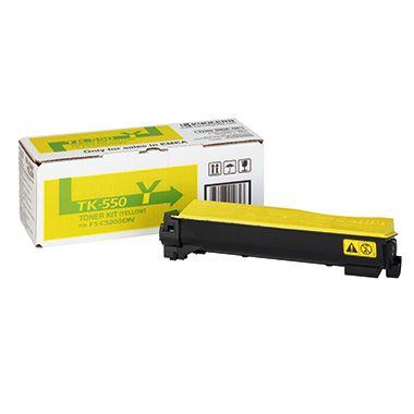 KYOCERA Toner TK550Y 1T02HMAEU0 6.000Seiten gelb