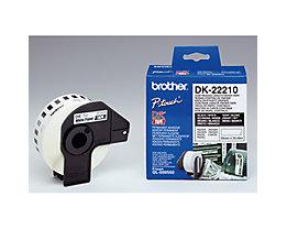 Brother Endlosetikettenrolle DK22210 9mmx30,48m weiß