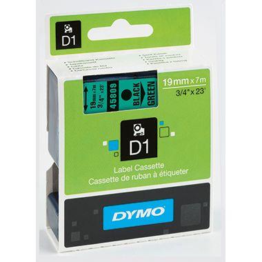 DYMO Schriftbandkassette D1 S0720890 19mmx7m sw auf gr