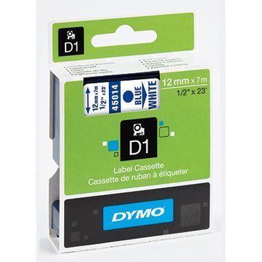 DYMO Schriftbandkassette D1 S0720540 12mmx7m bl auf ws