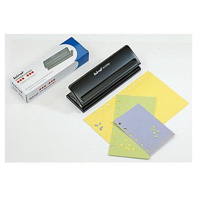 bind Systemlocher T 6001 6fach Lochung Metall schwarz