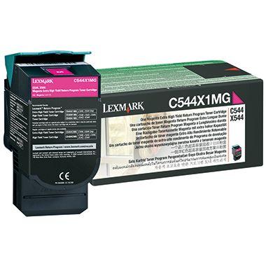 Lexmark Toner C544X1MG 4.000Seiten magenta