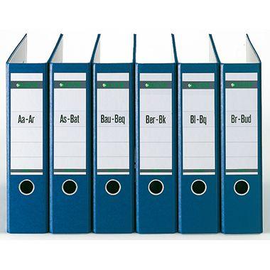 Leitz Registerserie 13240085 DIN A4 A-Z 24Ordner Tauenpapier grau