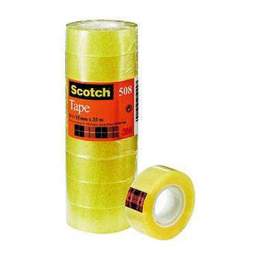 Scotch Klebefilm Magic 508 5081533 15mmx33m tr 10 St./Pack.