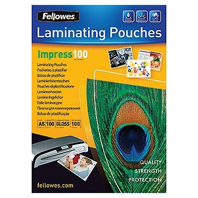 Fellowes Laminierfolie Impress 100 5351002 DIN A5 tr 100 St./Pack.