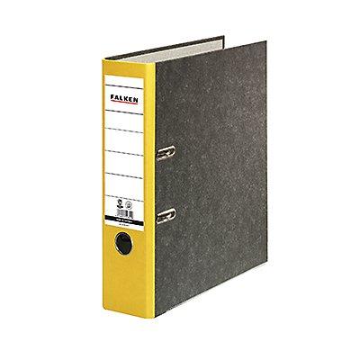 Falken Ordner S80 80024136 DIN A4 80mm RC Pappe schwarz