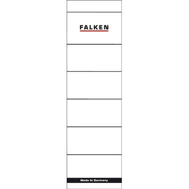 Falken Ordnerrückenschild 80039266 breit/kurz weiß 10 St./Pack.