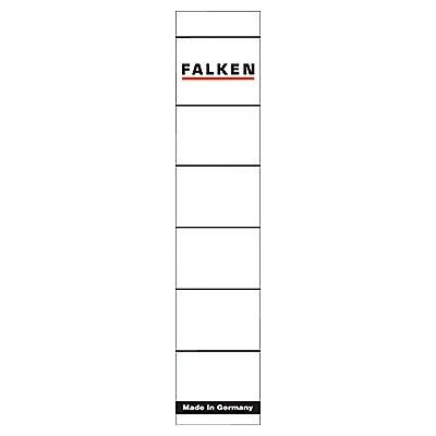 Falken Ordneretikett 80037765 schmal/kurz sk weiß 10 St./Pack.