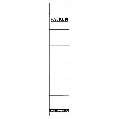 Falken Ordnerrückenschild 80039639 schmal/kurz weiß 10 St./Pack.